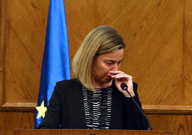 莫盖里尼没能忍住眼泪