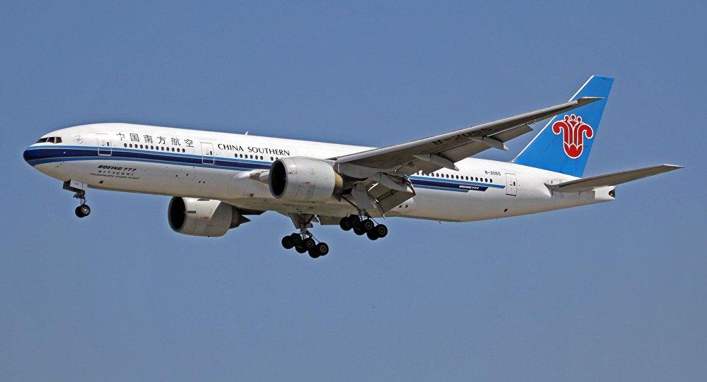 中國南方航空公司一架飛機