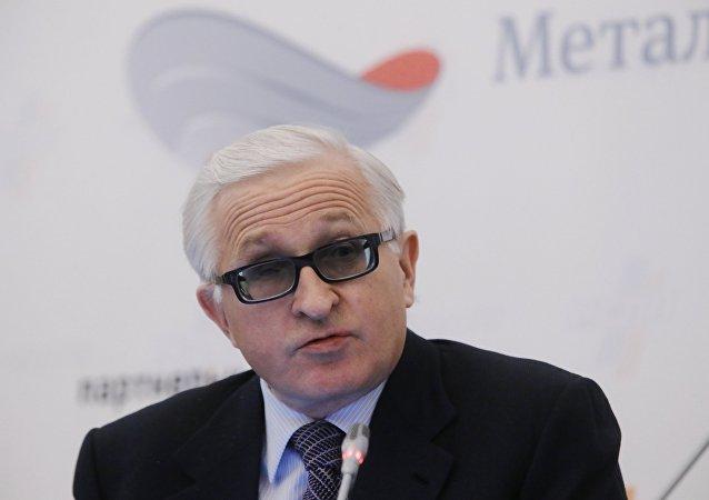 俄罗斯工业企业家联盟主席亚历山大·绍欣