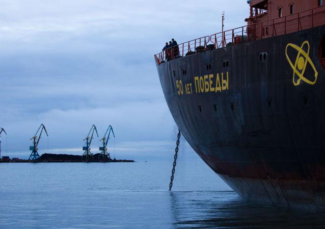 媒体:俄核动力破冰船将配备石墨烯材料可变形螺旋桨