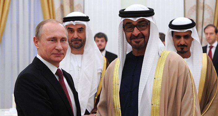 阿布扎比王储:俄罗斯在中东发挥重要作用