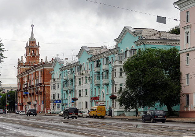 俄阿穆爾河畔共青城