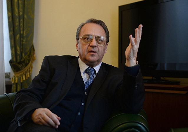 俄副外长:叙利亚反对派谈判最高委员会代表团可以访俄 邀请已发出