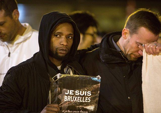 一名美国籍波士顿恐怖事件亲历者在布鲁塞尔再次遇袭