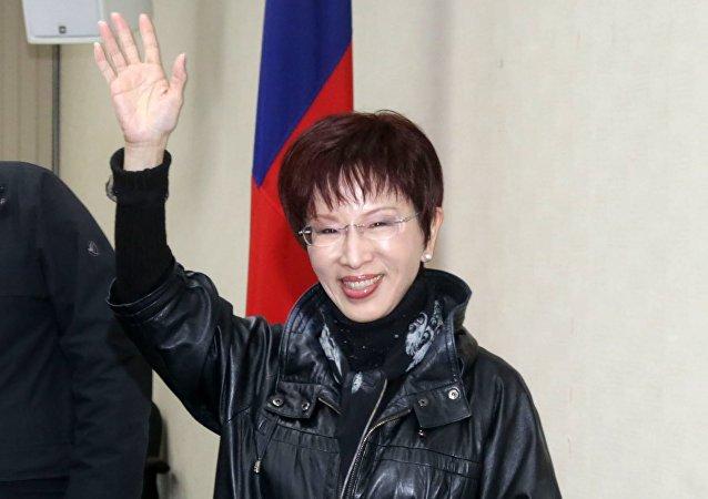 中国国台办:中国国民党主席洪秀柱将率团访问大陆