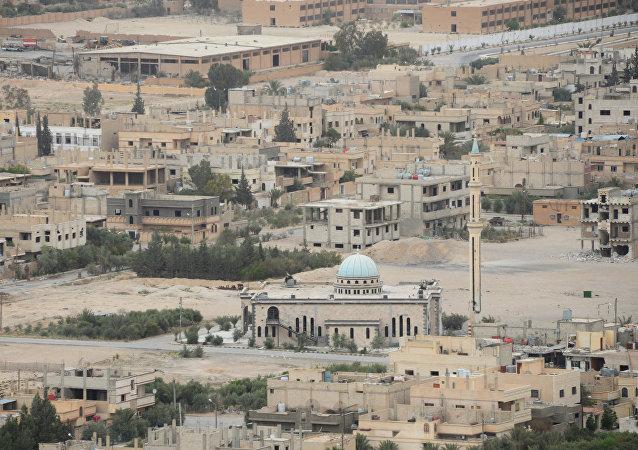 叙利亚政府军证实叙俄两国空军支援下已经解放巴尔米拉