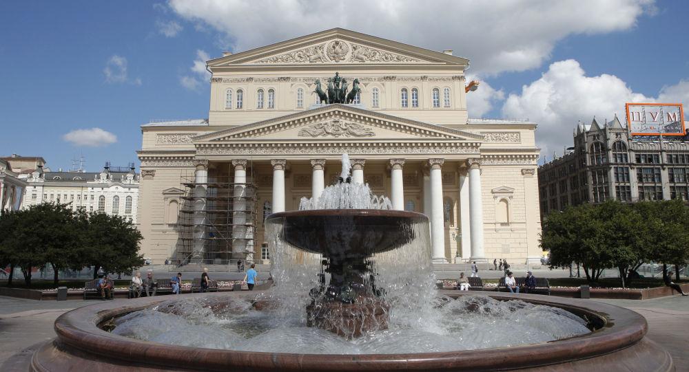 俄中友协在莫斯科大剧院庆祝其成立60周年
