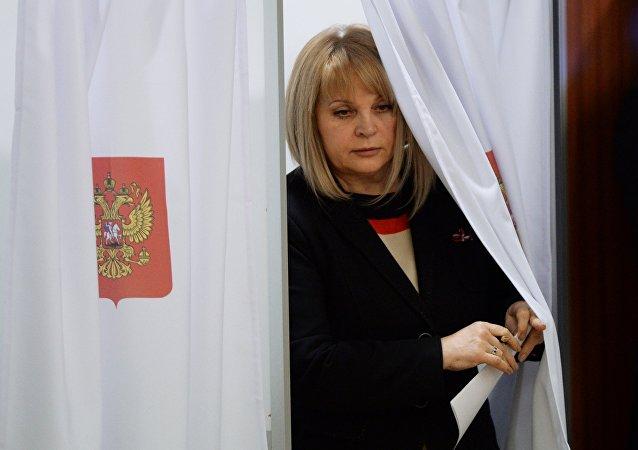 俄前人權專員出任中央選舉委員會主席