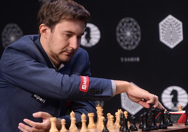 俄罗斯国际象棋选手谢尔盖·卡利亚金
