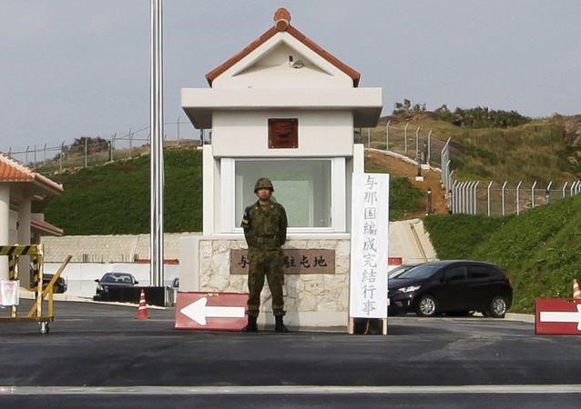 日本防卫相称不排除自卫队打击敌人基地可能