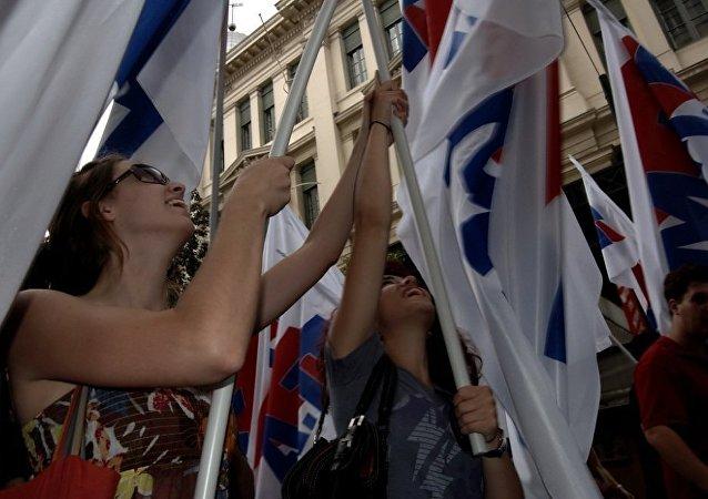 希腊共产主义工会已占领该国财政部