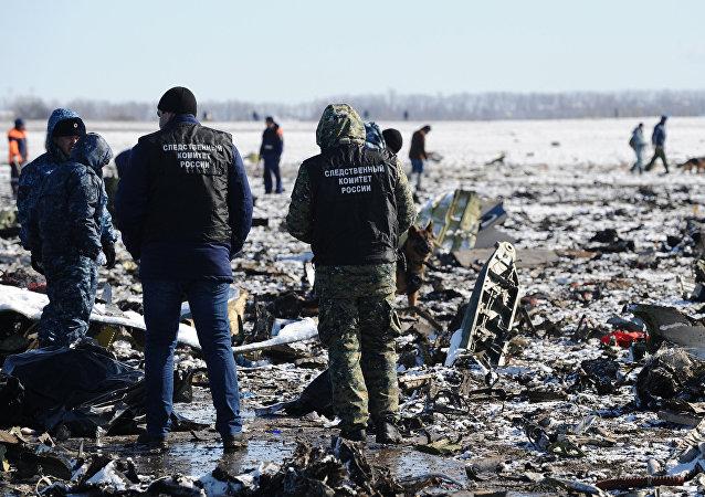 """国家间航空委员会:顿河畔罗斯托夫坠毁客机""""黑匣子""""数据不会公布"""