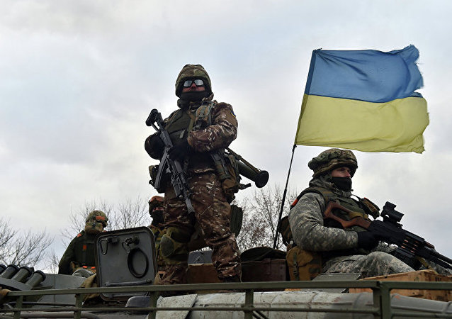 乌克兰军人