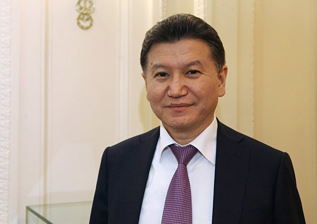 国际棋联主席伊柳姆日诺夫