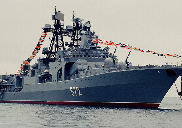 俄国防部:俄中海军在联合演习中展现高水平协作能力