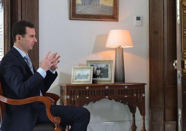 叙总统阿萨德接受卫星通讯社专访