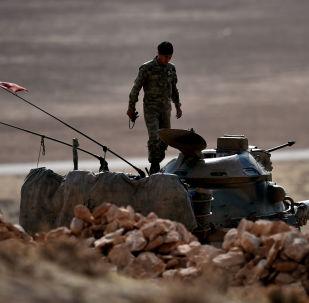 土耳其军队首次参与解放摩苏尔的行动