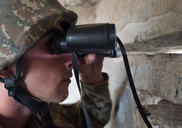 阿塞拜疆国防部:卡拉巴赫冲突区情况有所稳定
