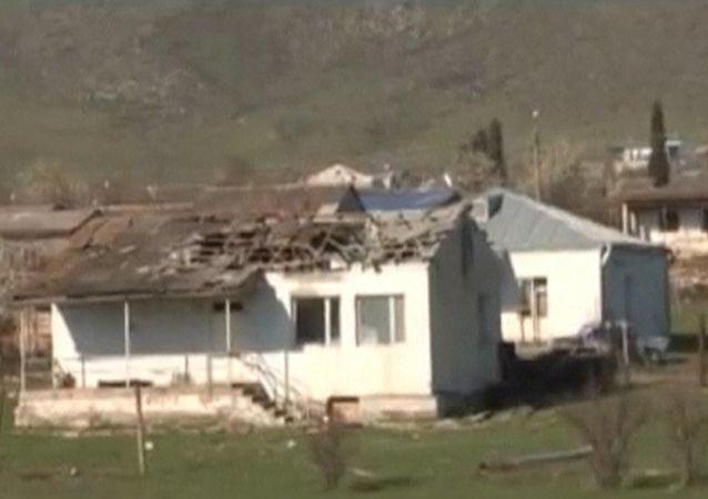 未获承认的纳卡共和国国防部称卡拉巴赫2日凌晨发生20次破坏停火的行为
