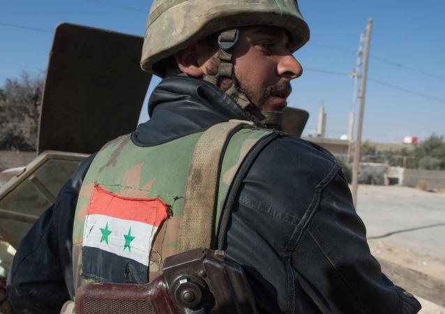 叙利亚军队全面解放盖尔耶泰因