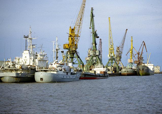 阿穆爾河畔尼古拉耶夫斯克河港口