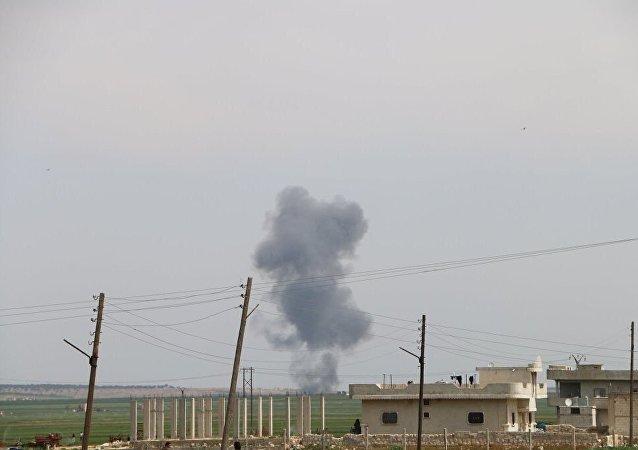 媒体:武装分子在阿勒颇东部击落一架叙空军飞机 机组丧生