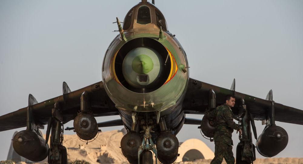 叙政府军的苏-22