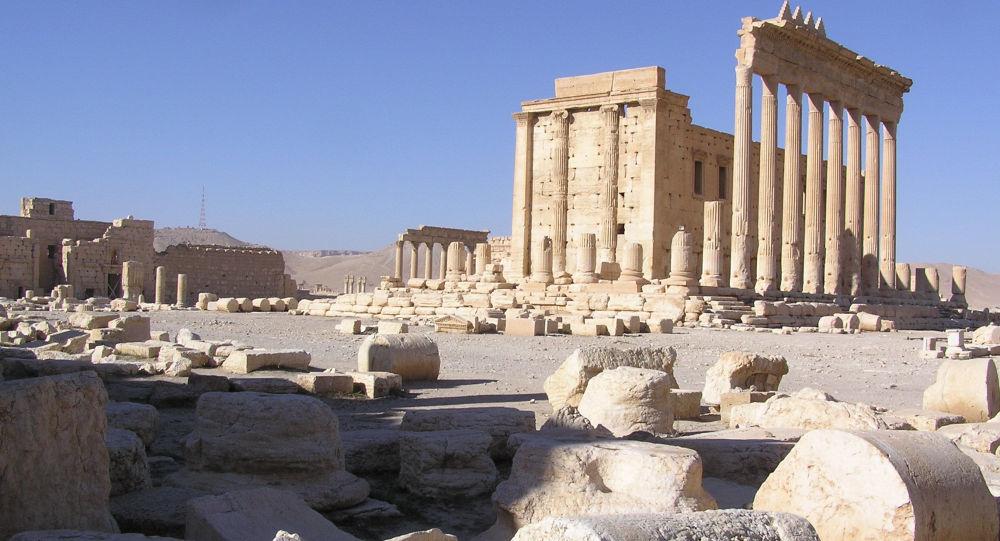 据叙电视台消息,巴尔米拉罗马剧院一部分遭IS损毁