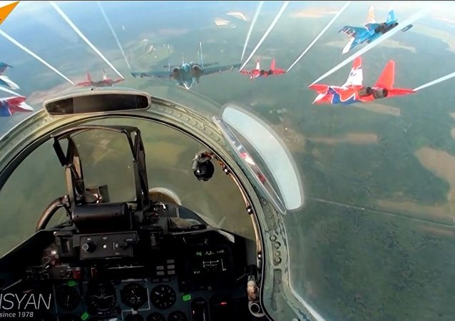 俄罗斯勇士飞行表演队
