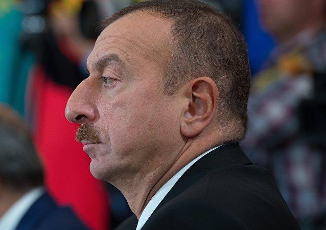 阿塞拜疆总统指责亚美尼亚在卡拉巴赫接触线挑衅