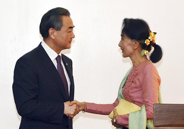 媒体:中国计划同缅甸解决商业争端