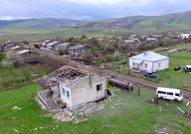 阿塞拜疆国防部称卡拉巴赫一天内发生11起破坏停火制度事件