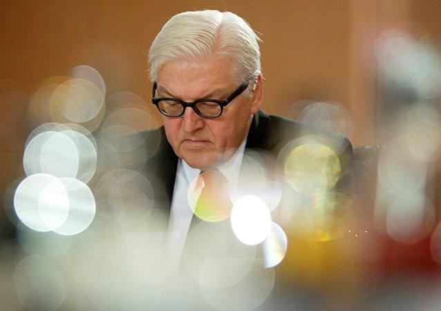 德国外长避而不谈被推举为总统可能