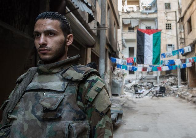 消息人士:叙利亚军队回击了阿勒颇南部恐怖分子的进攻