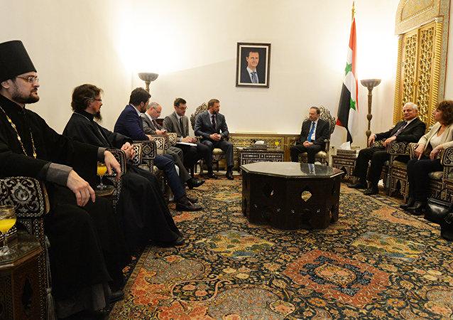 叙利亚总理称战后重建期间俄国公司将获优先权