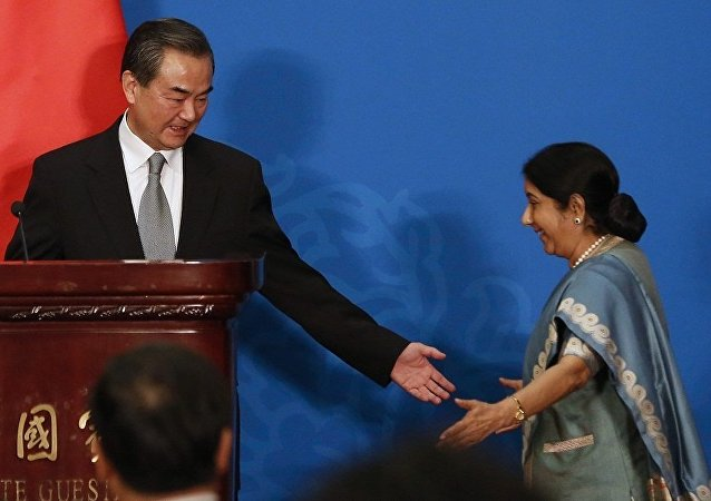 中印兩國外長