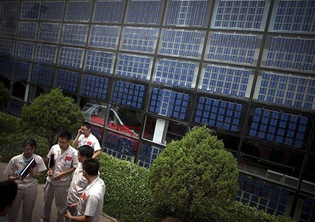 世贸组织:中国要求美国就其从中国进口的太阳能电池支付补偿费用