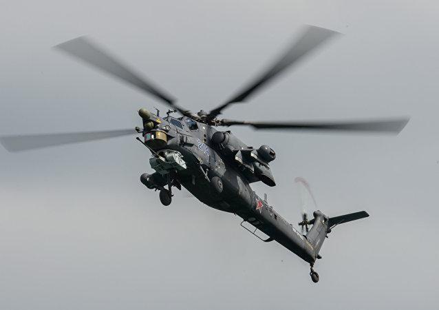 伊拉克国防部:伊拉克从俄罗斯获得新一批米-28 NE军用直升机