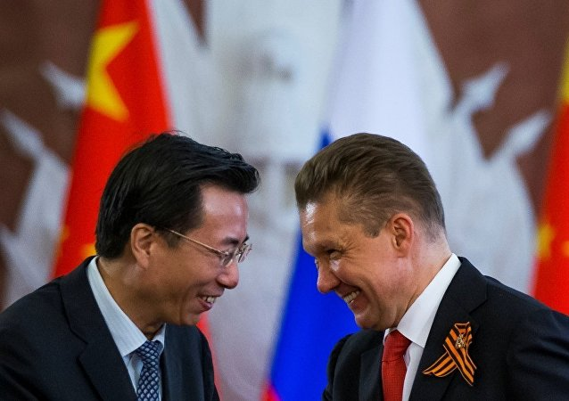 俄气和中国拟于明日签署地下储气库和能源协议