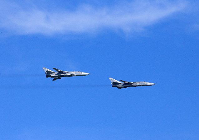 俄罗斯国防部:不同意美国关于苏-24进行危险飞行的说法