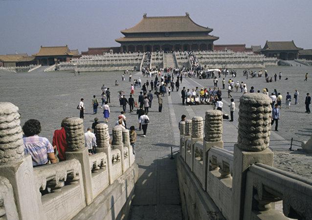 中国,故宫