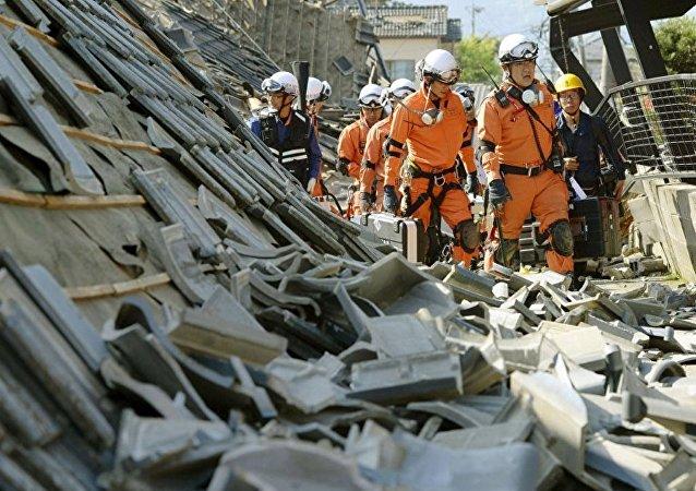 中国外交部:中方对日本福岛地区地震表示慰问