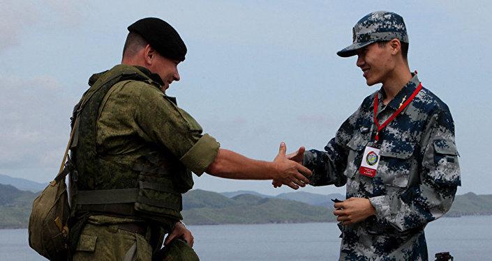 俄中军事合作