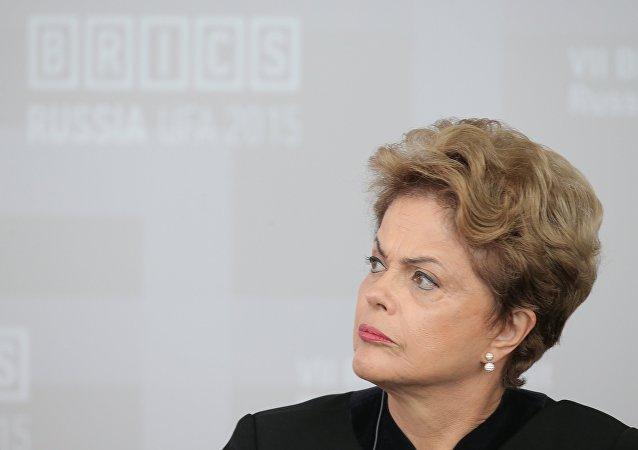 媒体:对巴西总统罗塞夫的弹劾程序或将于8月结束
