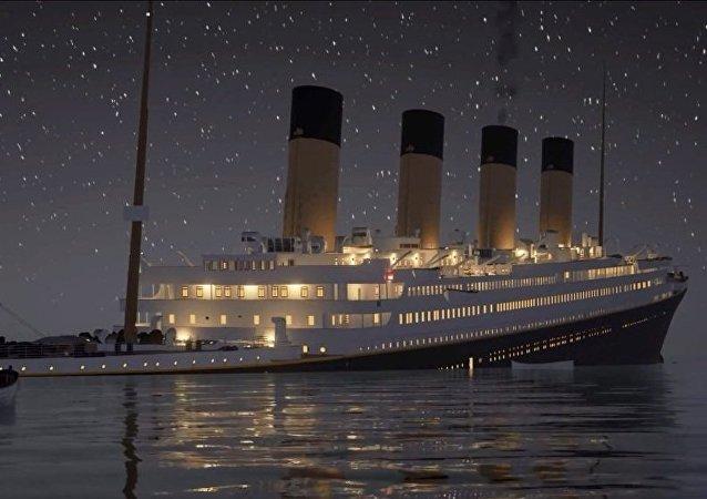 《泰坦尼克号》实时3D动画发布
