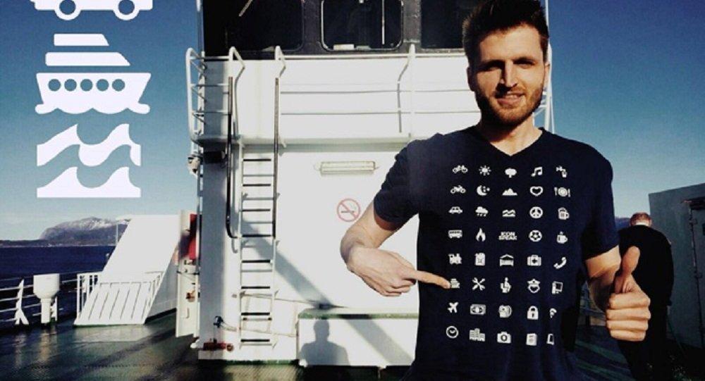 瑞士人設計出一款能克服語言障礙的T恤衫