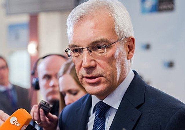 俄常驻北约代表将担任副外长