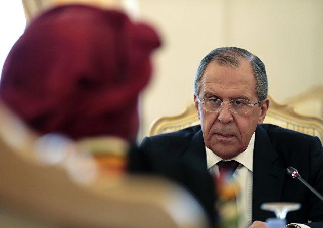 俄外长:俄反对一些欧盟国家武力介入利比亚局势的立场