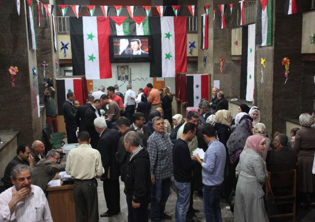 叙利亚人民议会选举