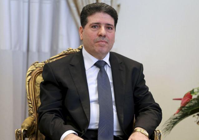 叙利亚总理瓦埃勒∙纳德尔∙哈勒吉